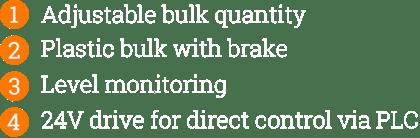 Bulk Storage - Numbered List